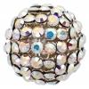 Swarovski Bead 40512 Round 12mm Aurora Borealis Crystal
